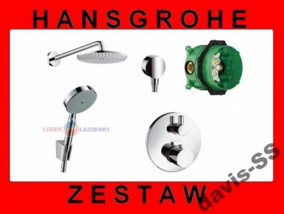 HANSGROHE zestaw termostatyczny ECOSTAT + AIR240