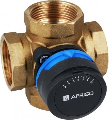 AFRISO ARV 485 DN32 5/4 Cala 4-drogowy obrotowy zawór mieszający  ProClick, Kvs 16 (NOWY MODEL)