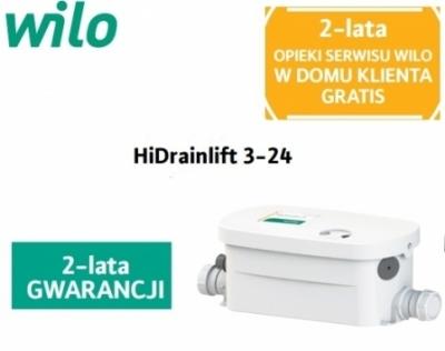 WILO pompa HiDrainlift 3-24  do wanny , prysznica , bidetu