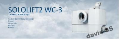 GRUNDFOS SOLOLIFT 2 WC-3 pompa rozdrabniająca
