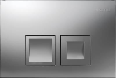 GEBERIT przycisk uruchamiający Delta50, przedni, chrom matowy do stelaży Basic DELTA UP100
