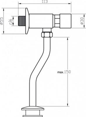 VALVEX URIVEX automatyczny zawór pisuarowy