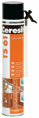 CERESIT TS 61 Pianka budowlana, poliuretanowa (wężykowa) 750 ml