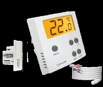 SALUS ERT50UP Podtynkowy Cyfrowy regulator temperatury - tygodniowy