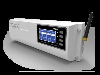 TECH L-6  Bezprzewodowa listwa ogrzewania podłogowego , sterownik zaworów termostatycznych (6 sekcji + zawór lub 8 sekcji)