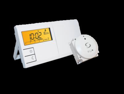 SALUS 091FLBC Bezprzewodowy programowany regulator temperatury-tygodniowy z modułem sterowania kotłem