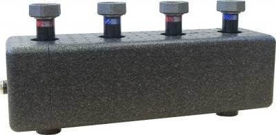 AFRISO Rozdzielacz KSV 125-2 HW 70 kW, dla 2 obiegów pompowych, ze sprzęgłem hydraulicznym