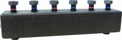 AFRISO  Rozdzielacz KSV 125-3 HW 70 kW, dla 3 obiegów pompowych, ze sprzęgłem hydraulicznym