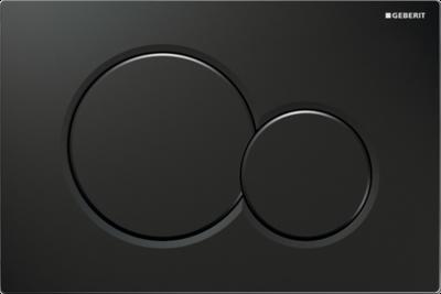 GEBERIT SIGMA01 przycisk uruchamiający przedni do spłuczek podtynkowych UP320 - CZARNY RAL9005