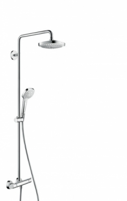 HANSGROHE Komplet prysznicowy Croma Select E 180 2jet, DN15
