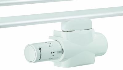 HEIMEIER Multilux 4 – Zestaw termostatyczny z Halo BIAŁY