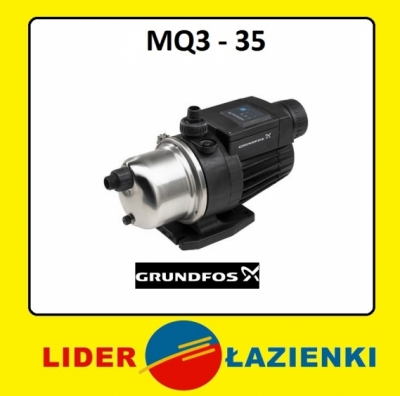 GRUNDFOS Bezobsługowa pompa hydroforowa MQ 3-35 HYDROFOR