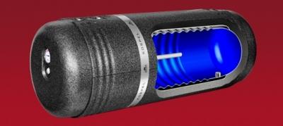 KOSPEL poziomy wymiennik c.w.u.dwupłaszczowy model WP 140 litrów