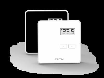 TECH R-8 b  Bezprzewodowy regulator pokojowy dwustanowy (współpraca z L-8)