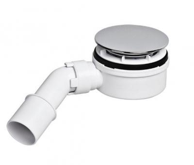 McALPINE HC2730LCPN-PB  Syfon brodzikowy 90 z elementem umożliwiającym czyszczenie od góry