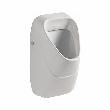 KOŁO Pisuar NOVA PRO ze zintegrowanym ceramicznym sitkiem, dopływ z tyłu