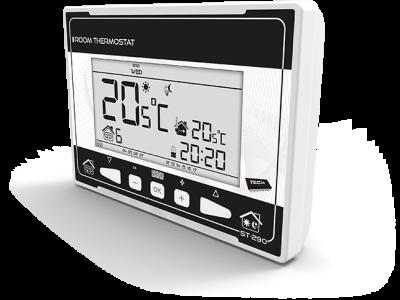TECH ST-290 v3 Regulator pokojowy dwustanowy * chwilowe podświetlenie