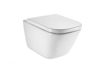 ROCA Gap Miska WC podwieszana Rimless z powłoką MaxiClean