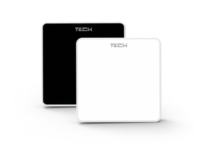 TECH C-8 r  Bezprzewodowy czujnik pokojowy – rejestracja