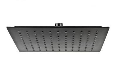 VALVEX CARRE BLACK Głowica prysznicowa deszczownica 25x25 czarny mat