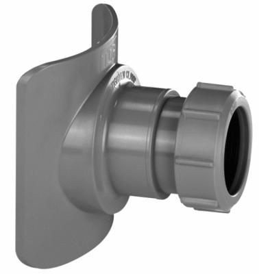 McALPINE BOSSCONN110-50-GR  Uniwersalne siodło mechaniczne do pionów kanalizacyjnych 110/50mm