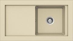 PYRAMIS AMBER (920x525) 1B 1D zlewozmywak granitowy  SAHARA