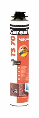 CERESIT  TS 70 MEGA Pianka poliuretanowa o wysokiej wydajności (pistoletowa)