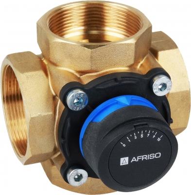 AFRISO ARV 487 4-drogowy obrotowy zawór mieszający ProClick, DN50, Rp2