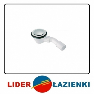 McALPINE syfon brodzikowy 90mm HC27-CLCP KLIK-KLAK