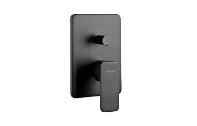 VALVEX LOFT BLACK bateria podtynkowa, wannowo-natryskowa CZARNY MAT