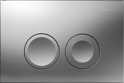 GEBERIT przycisk uruchamiający Delta21, przedni, chrom-mat do stelaży Basic DELTA UP100