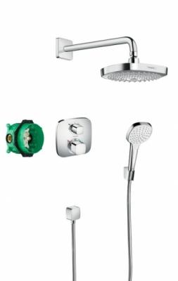 HANSGROHE Podtynkowy zestaw prysznicowy z termostatem Croma Select E/ Ecostat E