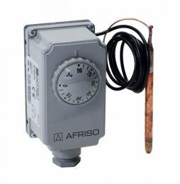 AFRISO Termostat zanurzeniowy TC2, 0÷90°C, nastawa zewnętrzna, kapilara 1000 mm