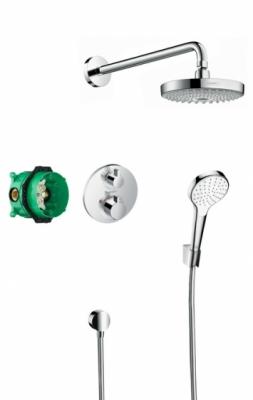HANSGROHE Podtynkowy zestaw prysznicowy Croma Select S/ Ecostat S