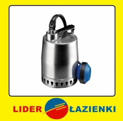 GRUNDFOS Pompa zatapialna z pływakiem KP 250 A1  01H1800 - kabel 10 mb