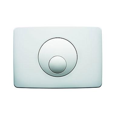KOŁO Przycisk spłukujący do stelaża KOŁO do WC, biały - wzór kółko
