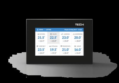 TECH ST-16S WiFi Bezprzewodowy regulator WiFi – obsługa siłowników dla 16 stref grzewczych