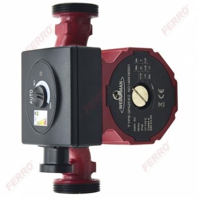 WEBERMAN / RED Pompa obiegowa do instalacji grzewczej i solarnej GPA II 25-4-180