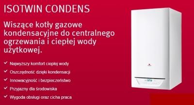 Saunier Duval ISOTWIN CONDENS kocioł gazowy kondensacyjny 30-B  0010021901