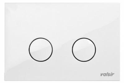VALSIR WINNER-S przycisk do stelaża kolor biały model P4