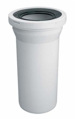 McALPINE WCE-CON1  Przyłącze kanalizacyjne, długie 260mm, proste.