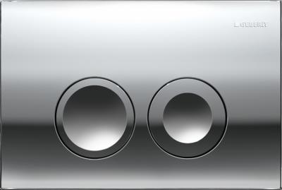 GEBERIT przycisk uruchamiający Delta21, przedni, chrom błyszczący do stelaży Basic DELTA UP100