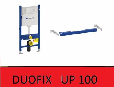 GEBERIT Duofix UP 100 stelaż do wc + wspornik KOMPLET