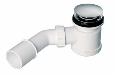 McALPINE HC26CLCP  Syfon brodzikowy 50 , KLIK KLAK z elementem umożliwiającym czyszczenie od góry