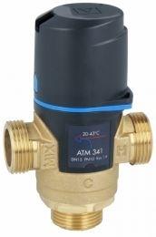 AFRISO ATM 341 termostatyczny zawór mieszający 3/4 zakres temperatury 20-43st.C, Kvs 1,6