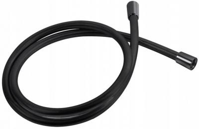 VALVEX wąż natryskowy prysznicowy czarny 1,5m