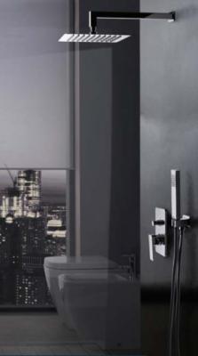 VALVEX - CARRE  zestaw podtynkowy z deszczownicą kwadratową 250 mm - KOMPLETNY