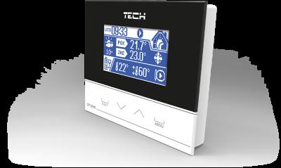TECH ST-296 Regulator pokojowy z komunikacją RS