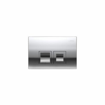 GEBERIT Delta50 - przycisk uruchamiający przedni do spłuczek podtynkowych UP100 chrom błyszczący