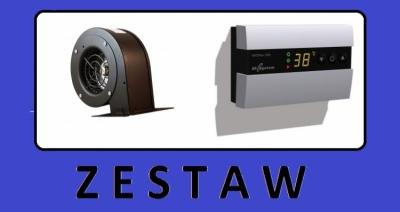 DK SYSTEM zestaw nadmuchowy EKOSTER + WENTYLATOR